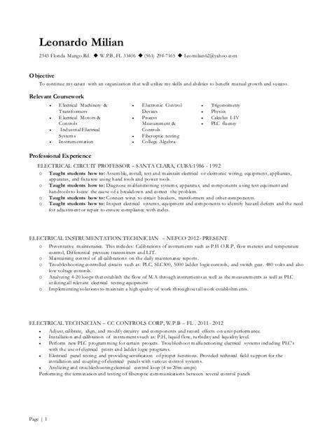 How To Present Page Resume by Leonardo Milian Present Resume
