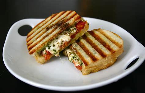 caprese panini caprese panini deliciously declassified