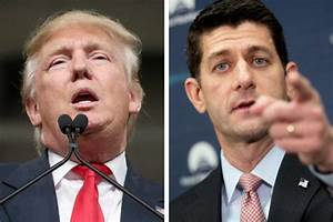 Paul Ryan Breaks With Trump On International Trade Policies