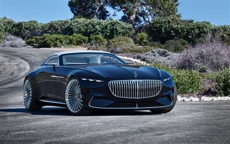 2018 Vision Mercedes Maybach 6 Cabriolet 6 Wallpaper