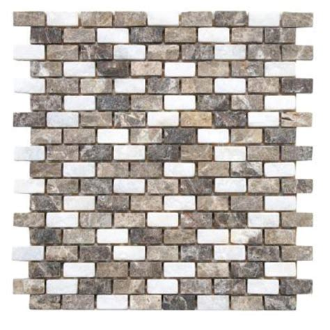Home Depot Merola Subway Tile by Merola Tile Griselda Subway Sand 11 1 2 In X 11 1 2 In X