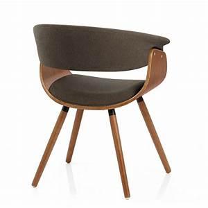 Chaise Bois Design : chaise bois tissu grafton monde du tabouret ~ Teatrodelosmanantiales.com Idées de Décoration