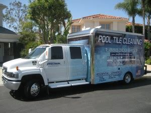 precision pool tile cleaning