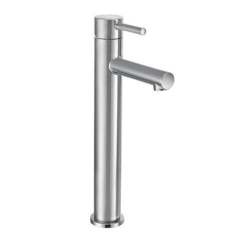moen align single hole 1 handle bathroom faucet in chrome
