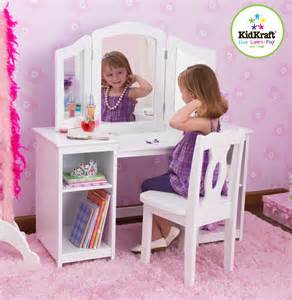 kidkraft deluxe vanity chair