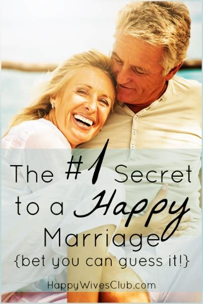 Happy Marriage Secret