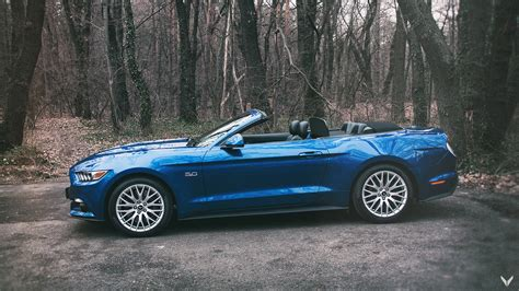 ford mustang cabriolet vilner team showcase a dual styling concept with two