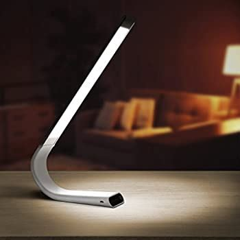 Luxe Cordless Eye Friendly LED Desk Lamp, USB Rechargeable