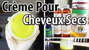 Recette Masque Cheveux Secs : cr me hydratante pour cheveux cr pus fris s d fris s boucl s secs youtube ~ Nature-et-papiers.com Idées de Décoration
