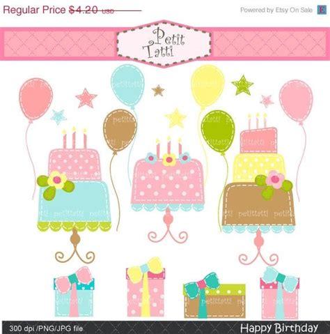 palloncini clipart su arte di clip compleanno di vendita clipart di torta