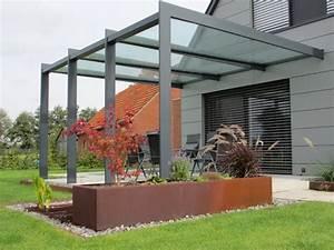 Terrasse Mit überdachung : die besten 25 berdachung terrasse ideen auf pinterest ~ Whattoseeinmadrid.com Haus und Dekorationen