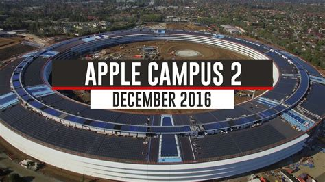 siege social translation apple campus 2 december 2016 update 4k