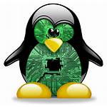 Linux Penguin Avatar Board Circuit Deviantart