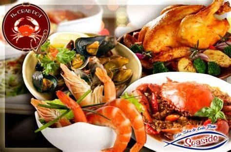 crab pots seafood buffet ktv room massage spa