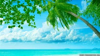 Scenes Summer Paradise Wallpapers Island Backgrounds Crazy
