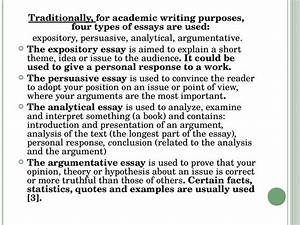 What Are The Types Of Essay Writing what are the types of