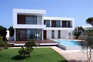 architectura06 construire une villa maison contemporaine With plan de belle maison 16 187 containers