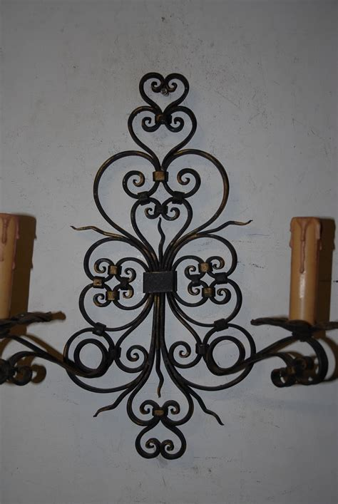 beautiful decorative quality antique scrolling wrought