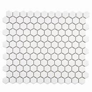 Merola Tile Metro Hex Glossy White 10-1/4 in. x …