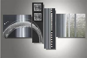 Tableau Metal Design : tableau deco en metal 11 ~ Teatrodelosmanantiales.com Idées de Décoration