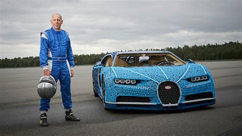When we say with lego technic you can build for real, we really mean it! Life-size Lego Technic Bugatti Chiron really drives - Autoblog