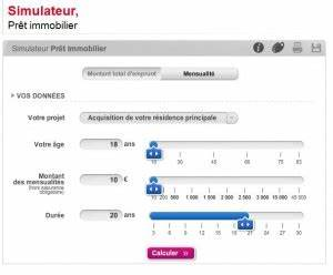 Societe Generale Credit Immobilier : simulateur de pr t soci t g n rale ~ Medecine-chirurgie-esthetiques.com Avis de Voitures