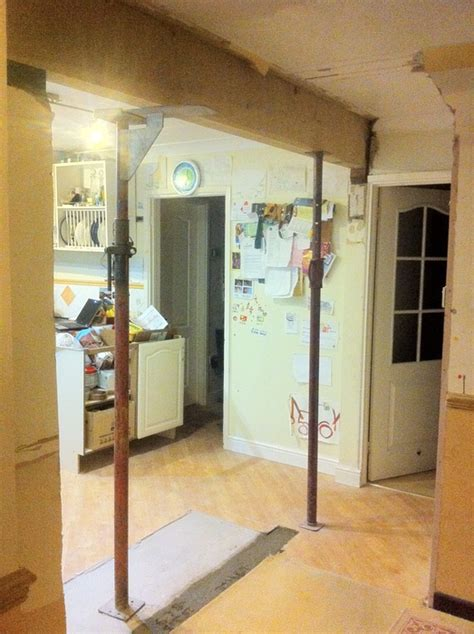 Getting An Opening Remove An Internal Wall! · House And