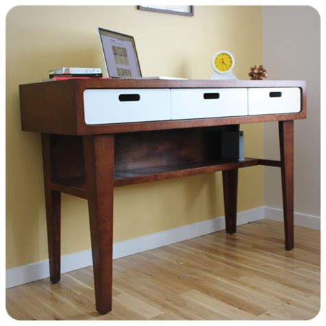 modern white desk with drawers modern standing desk office desk in caramel stain with