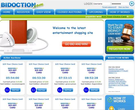 Bid Auction Websites Sortfolio Microbid Software Auctions Development Jerusalem