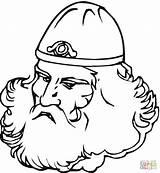 Coloring Viking Beard Printable Vikings Colorare Barba Disegno Kleurplaat Ages Middle Books Wallpaperartdesignhd Longship Printen Baard Kleurplaten Grote Gratis Vichingo sketch template