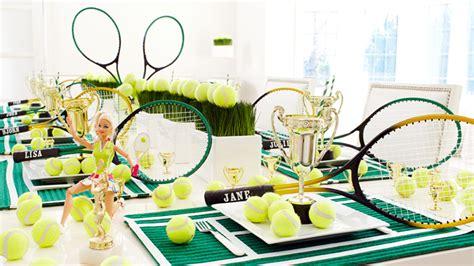 tennis theme party wimbledon party