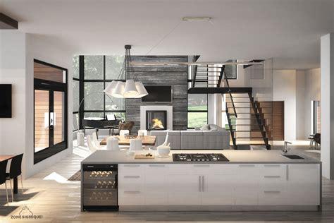 maison cuisine best interieur maison moderne cuisine contemporary