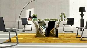 La table roche bobois fonctionnalite et idees creatives for Roche bobois salle À manger pour petite cuisine Équipée