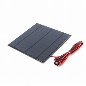 Aliexpress Com   Buy 5v Solar Panel With 30  100  200cm Wire