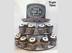 Jack Daniels inspired cake and cupcakes Wrappers from EZ
