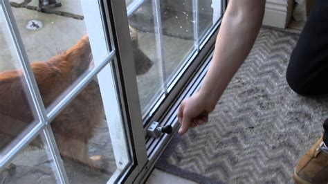 best way to secure your sliding patio doors