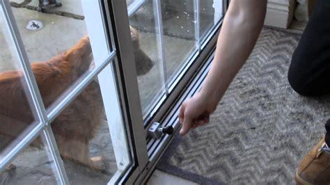 sliding patio door home security home security
