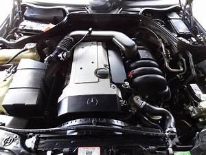 W124 Engine Mercedes Benz 300e 3 2 Black  30