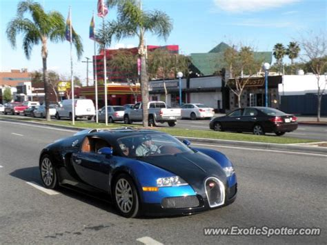 Bugatti Veyron Spotted In Beverly Hills , California On 01