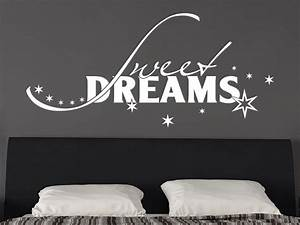 Wandtattoo Sweet Dreams : wandtattoo sweet dreams s e tr ume von klebeheld ~ Whattoseeinmadrid.com Haus und Dekorationen
