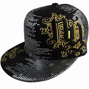 Hip Hop Urban Wear Cap Hat Fitted Black Cap fitted Urban ...