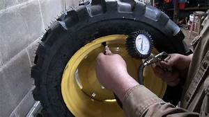 How I Load Tractor Tires With Windshield Washer Fluid For