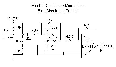 Basic How Amplify Electret Microphone Range From