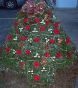 christmas tree blanket cemetery pinterest