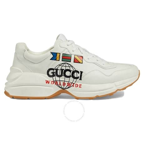 Gucci mens patent leather sneakers shoes with original box. Gucci Ladies Rhyton Gucci Worldwide Sneakers - Shoes ...