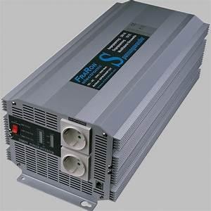 Wechselrichter 1000 Watt : wechselrichter modifizierter sinus 4000 watt 12v ~ Jslefanu.com Haus und Dekorationen