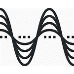 Frequency Icon Vibration Sound Wave Pitch Hertz