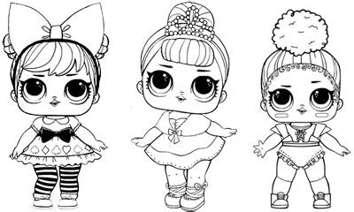 lol surprise doll coloring pages  printable coloring pages
