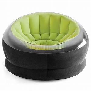 Mobilier Gonflable Exterieur : intex fauteuil de jardin gonflable onyx vert mobilier ~ Premium-room.com Idées de Décoration