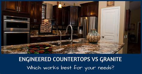 engineered countertops vs granite capital granite